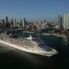 Maiden Call voor MSC Divina in Miami