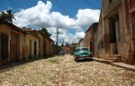 A street in Trinidad, Cuba