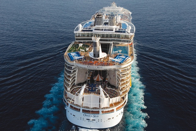 De Oasis of the Seas van Royal Caribbean