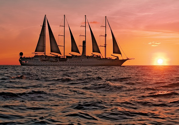 Windstar Cruises sunset
